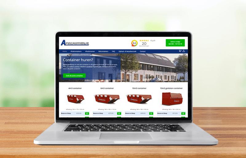Afvalpartner Webdesign