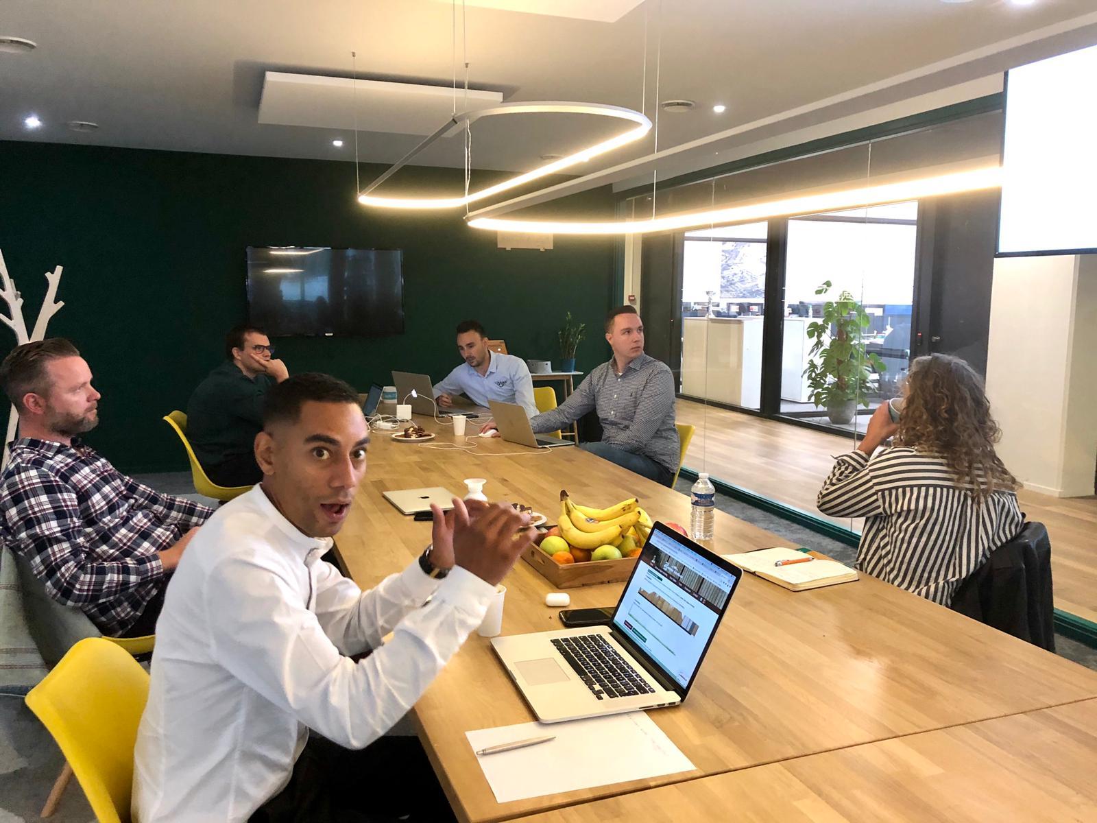 Team overleg Alona Marketing