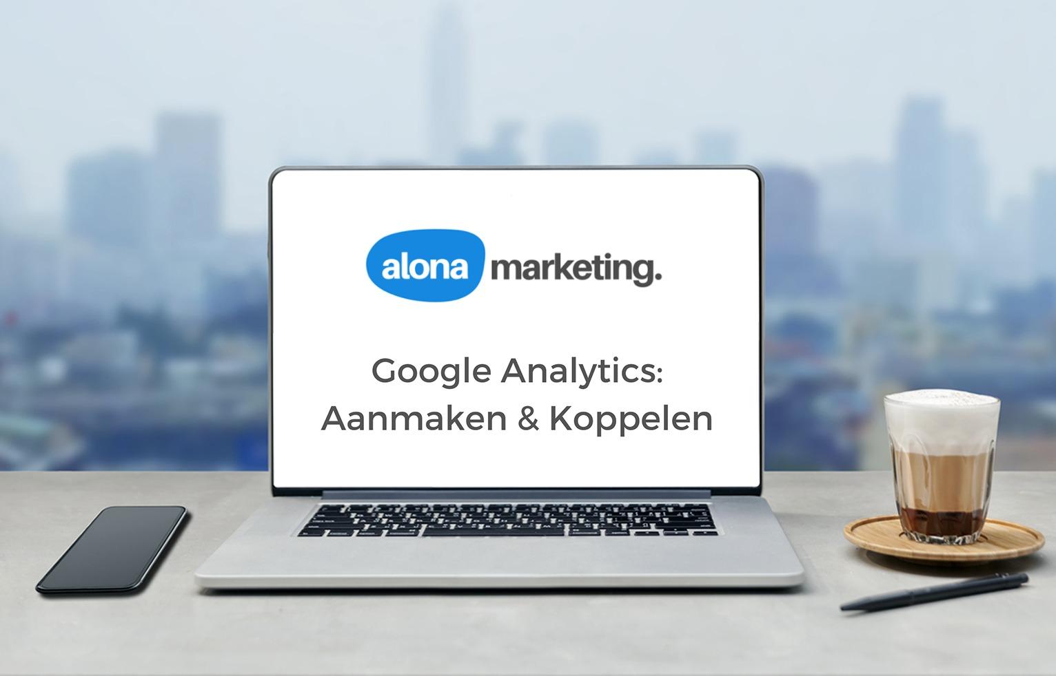 Google Analytics aanmaken en koppelen
