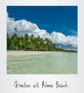 Groeten uit Alona Beach